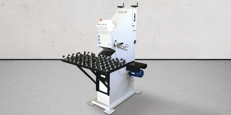 Macchine lavorazione vetro Molatrici a nastro - intro