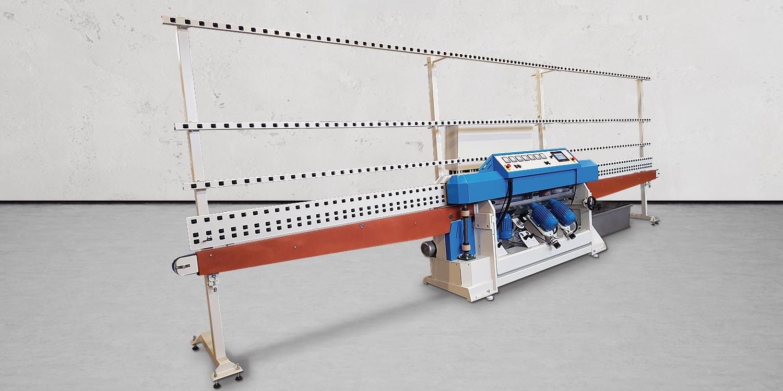 Macchine lavorazione vetro molatrici a filo piatto - intro