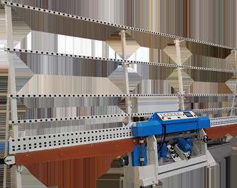 Macchine lavorazione vetro macchinari per vetro - molatrici