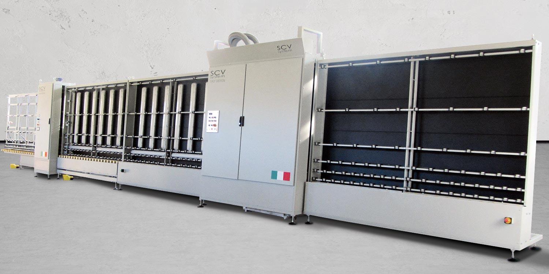 Macchine lavorazione vetro linee vetrocamere e presse - intro