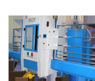 Macchine lavorazione vetro macchinari per vetro - sabbiatrici