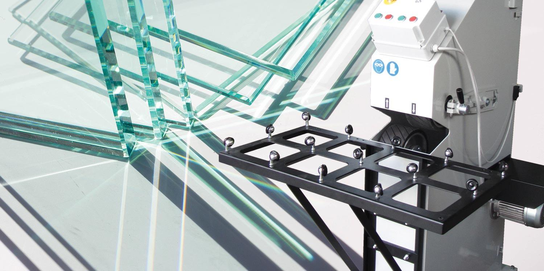 Macchine lavorazione vetro Molatrici a nastro - home 01